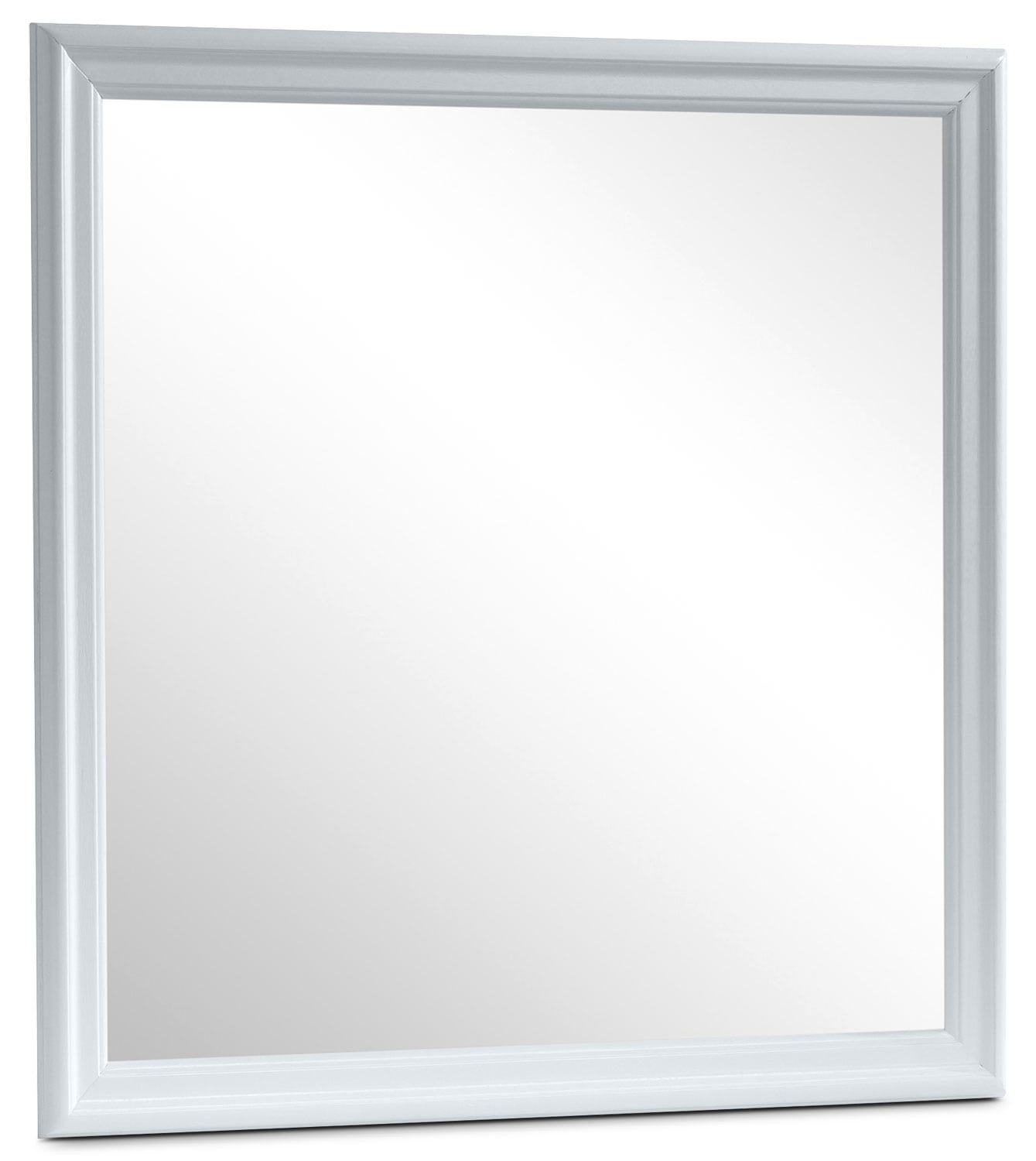 Bedroom Furniture - Belleview Mirror - White