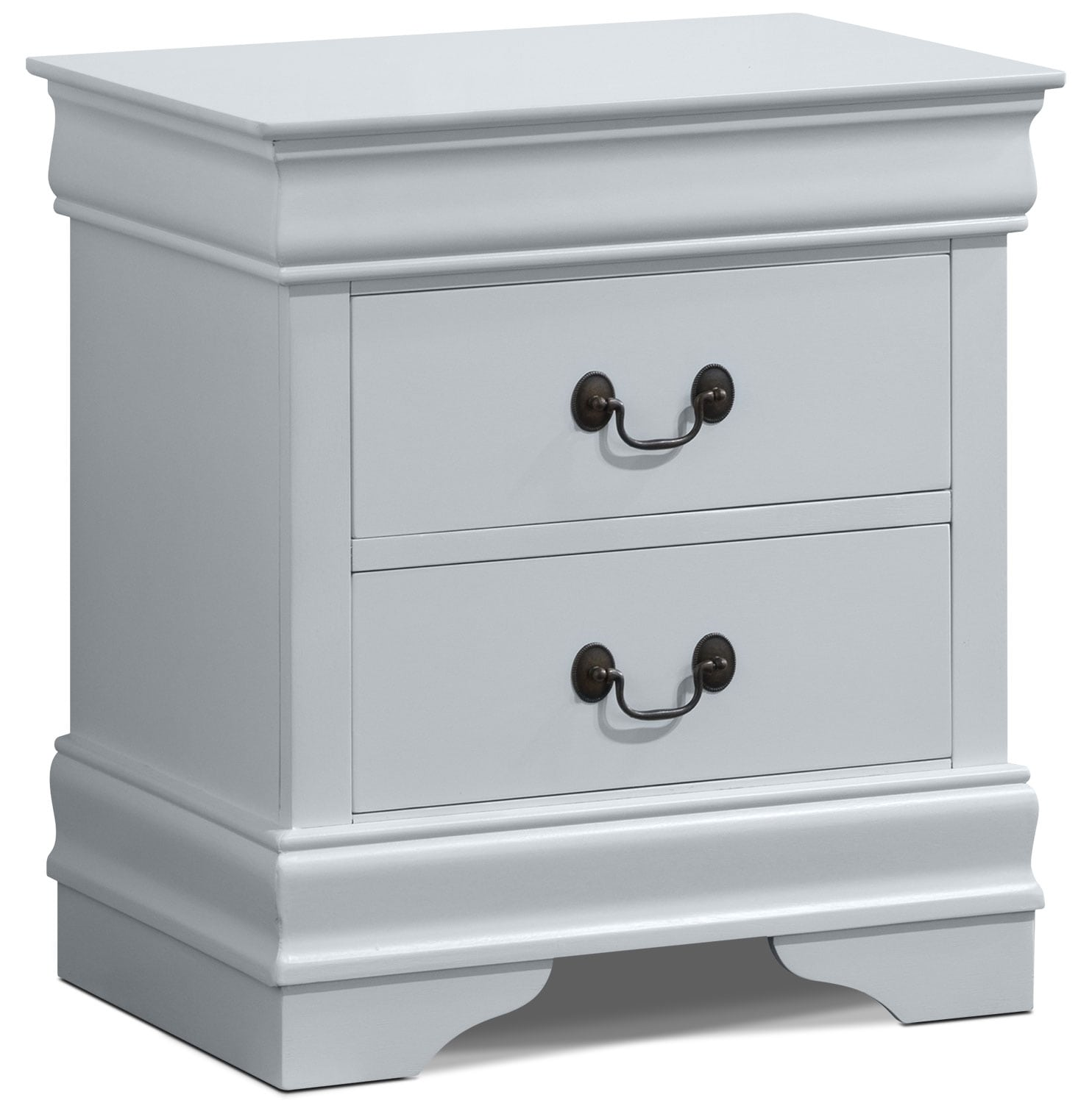 Bedroom Furniture - Belleview Nightstand - White