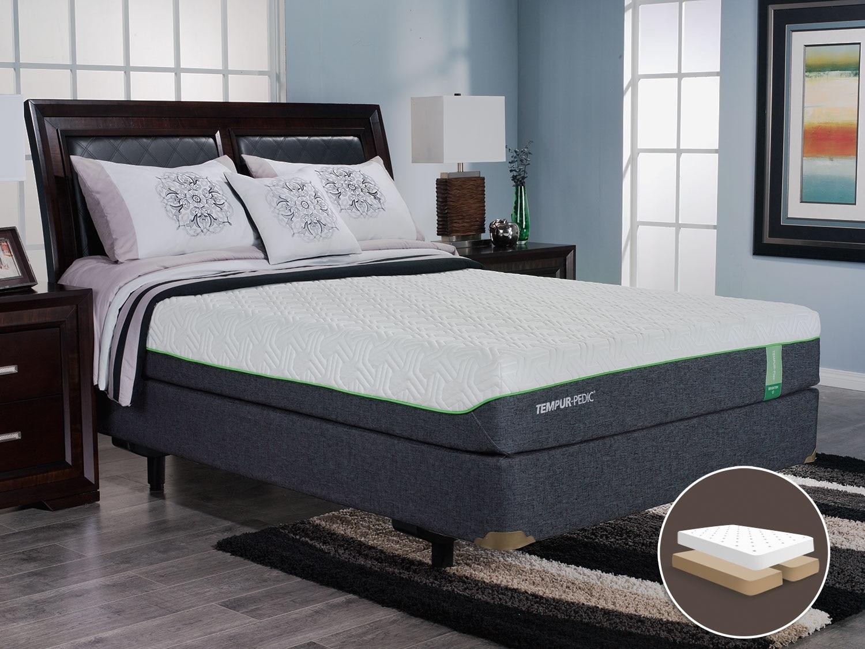 Mattresses and Bedding - TEMPUR-Flex™ Brighton Split Queen Mattress Set