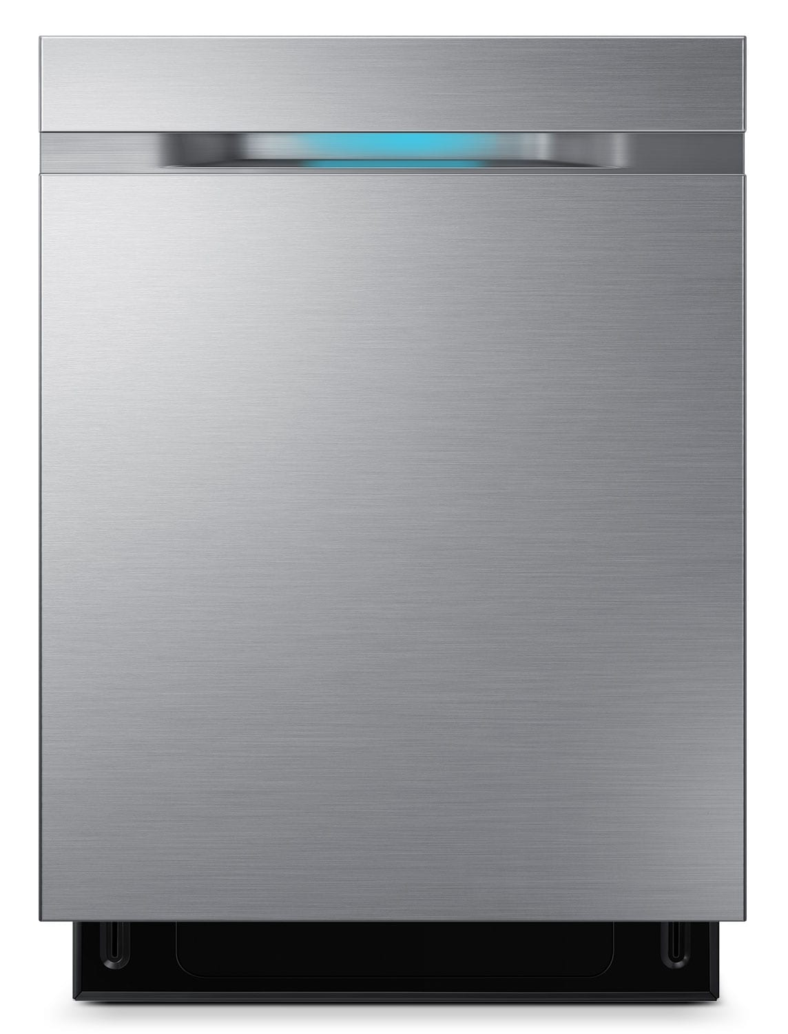 "Clean-Up - Samsung Stainless Steel 24"" Dishwasher - DW80J7550US/AC"