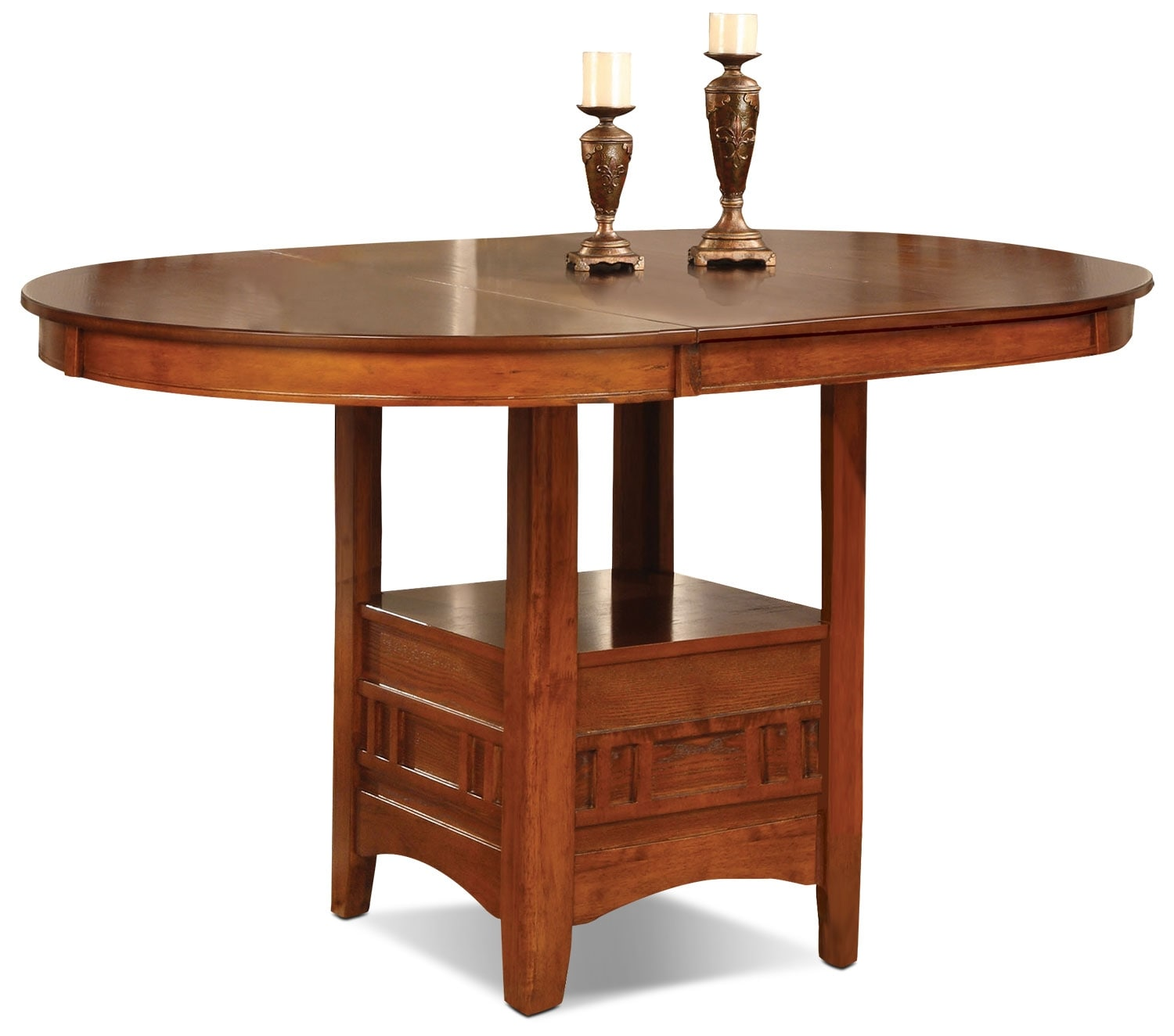 Dining Room Furniture - Dalton Oak Counter-Height Table