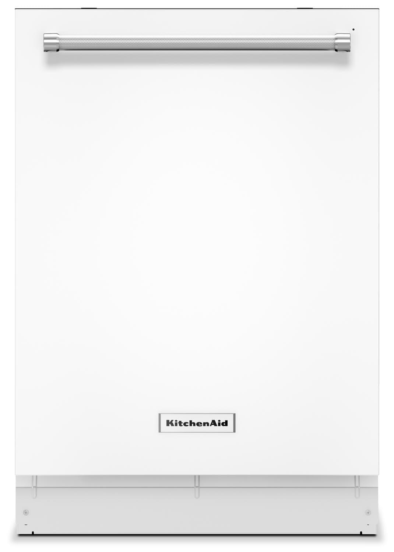 """KitchenAid White 24"""" Dishwasher - KDTE104EWH"""