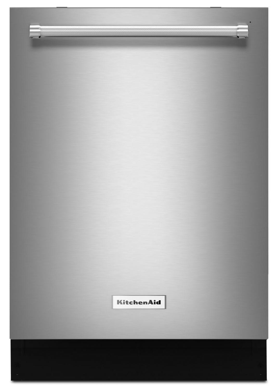"KitchenAid Stainless Steel 24"" Dishwasher - KDTM704ESS"