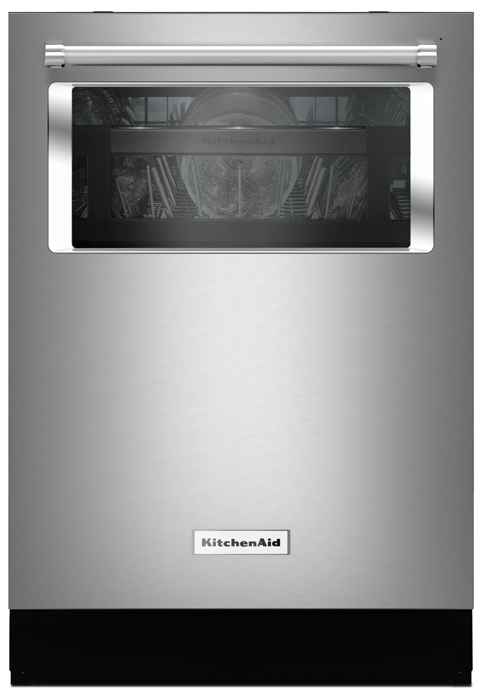 "KitchenAid Stainless Steel 24"" Dishwasher - KDTM804ESS"