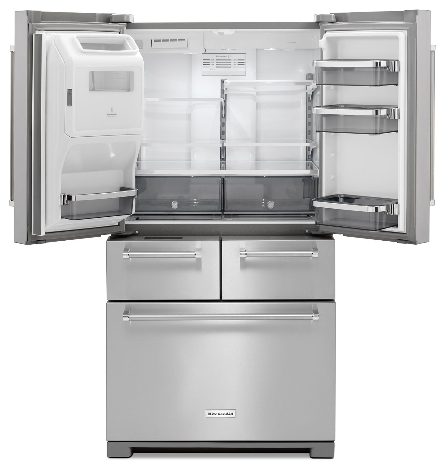 Kitchenaid Krfc302ess 22 Cu Ft Counterdepth French Door The Here39s A Few Diagrams That Might Help This Is For Typical Bosch Stainless Steel Refrigerator 258
