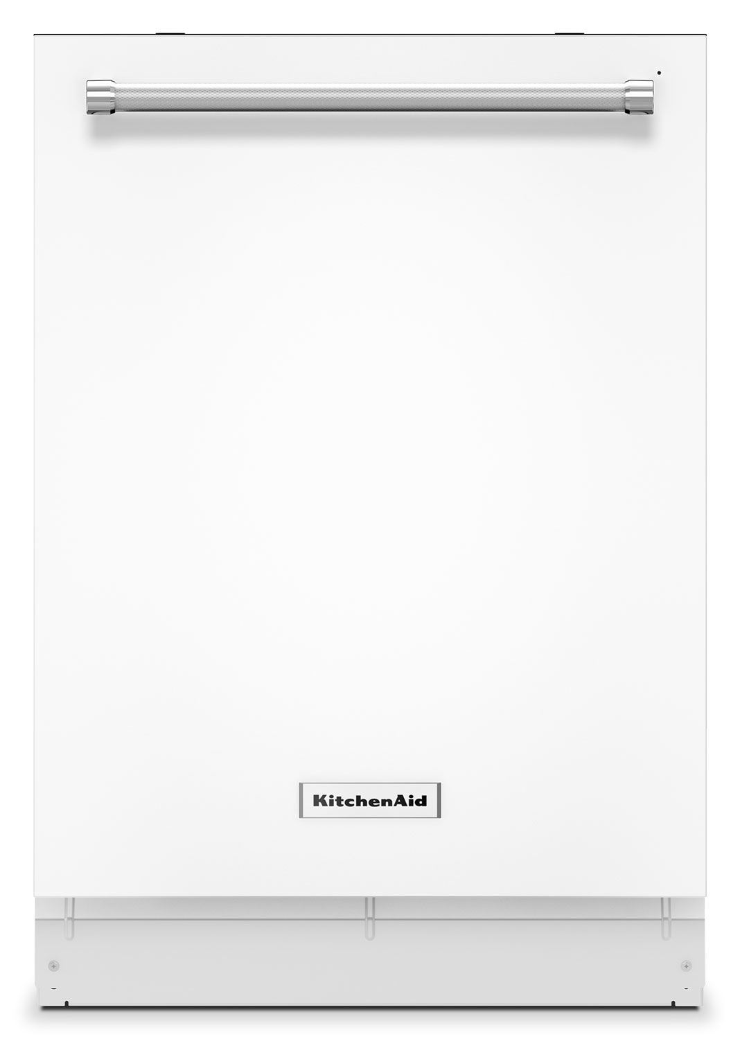 "Clean-Up - KitchenAid White 24"" Dishwasher - KDTE204EWH"