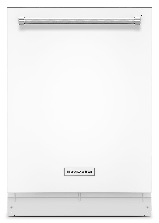 """KitchenAid White 24"""" Dishwasher - KDTE254EWH"""