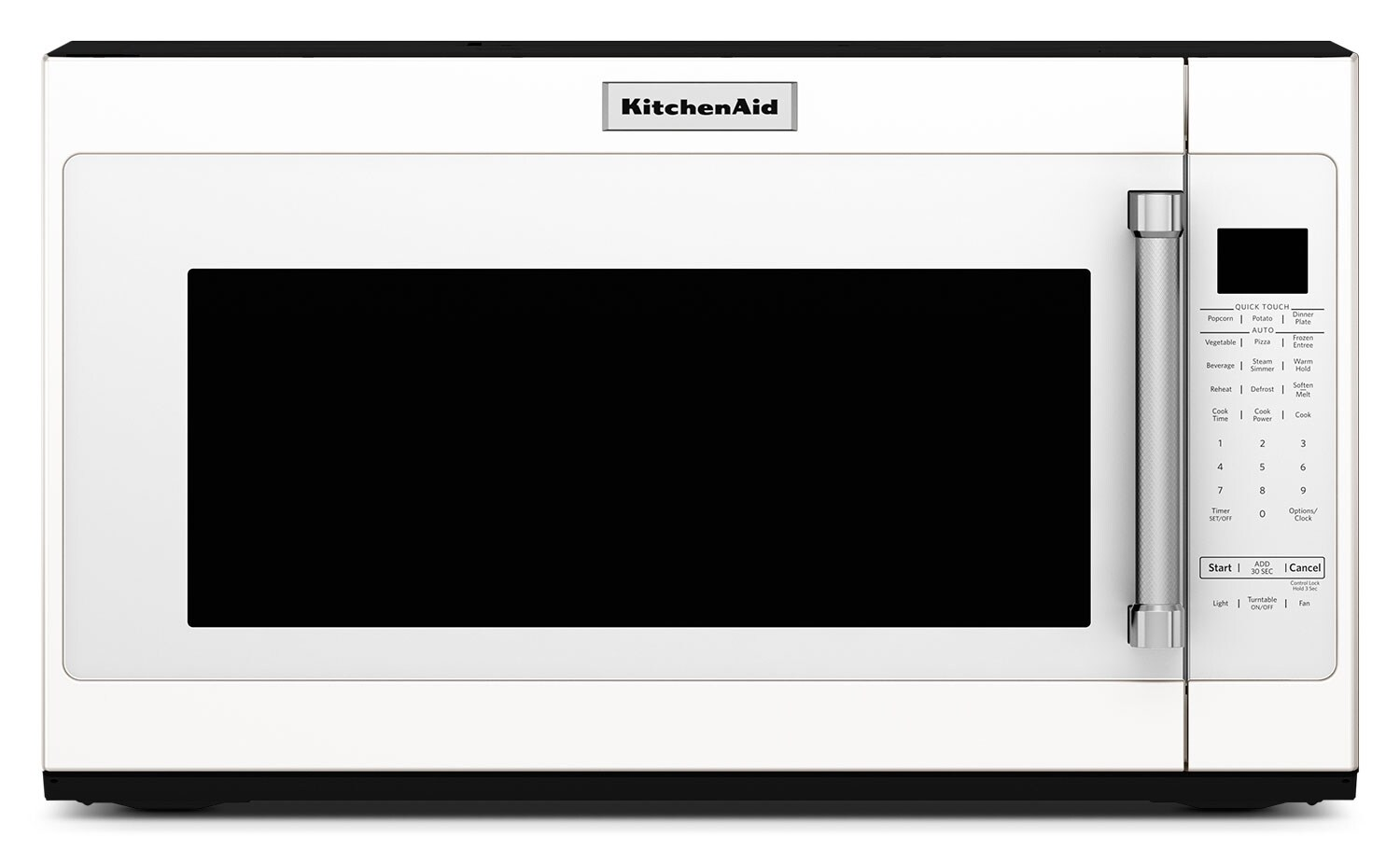 Cooking Products - KitchenAid 2.0 Cu. Ft. Over-the-Range Microwave with Sensor Functions - White