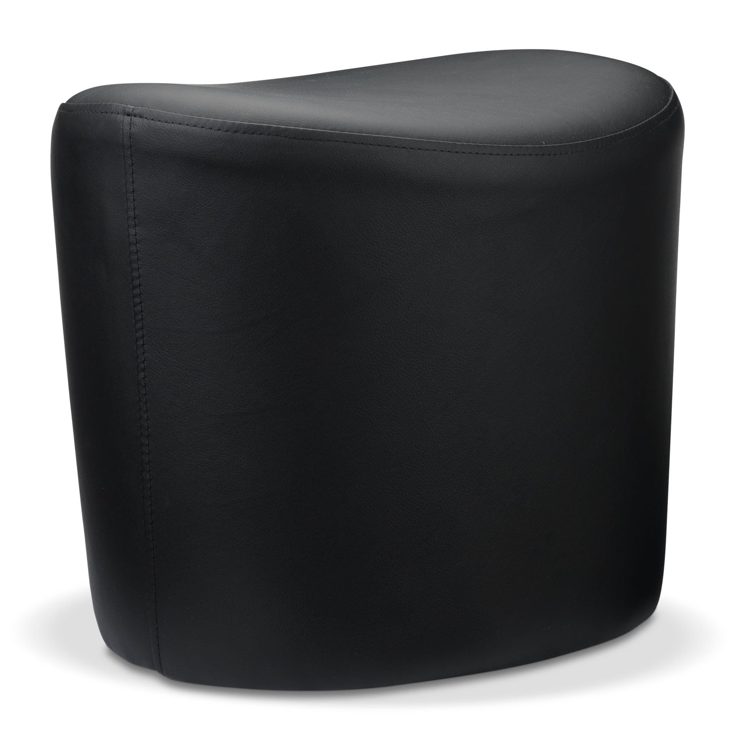 Accent and Occasional Furniture - Brandt Ottoman - Black