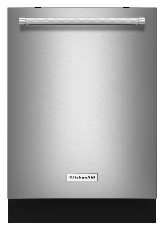 """Clean-Up - KitchenAid Stainless Steel 24"""" Dishwasher - KDTM404ESS"""