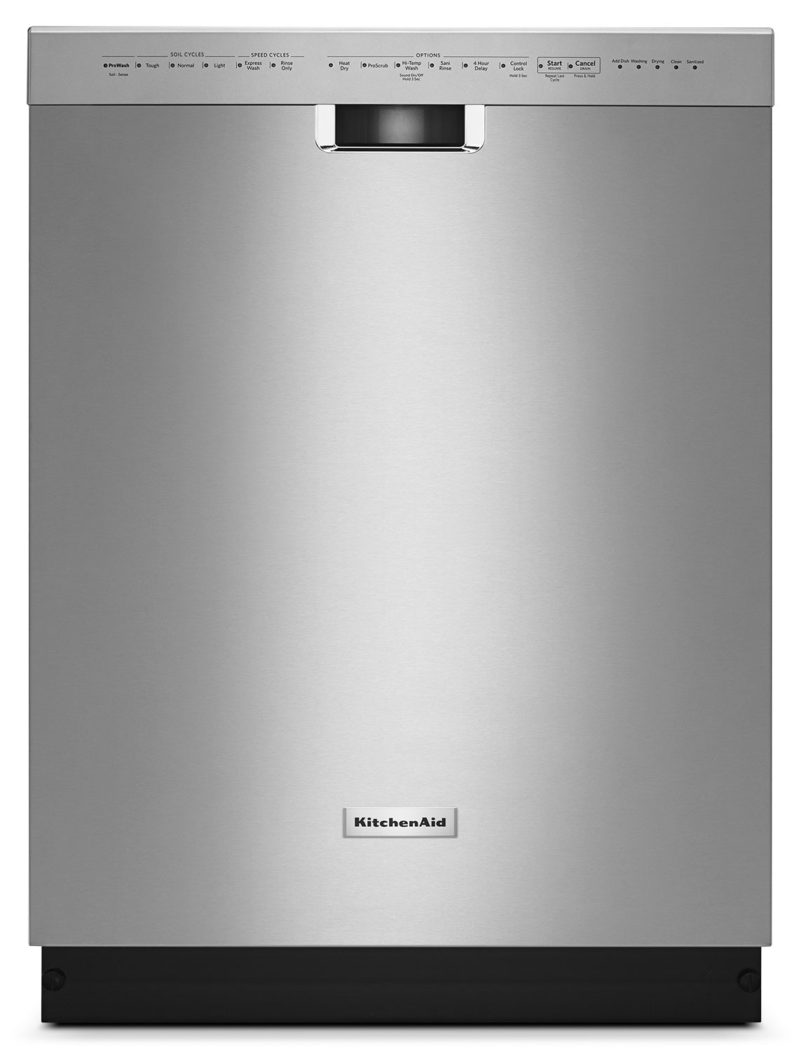 "Clean-Up - KitchenAid 24"" Dishwasher with ProWash™ Cycle – Stainless Steel"