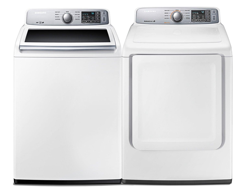 Samsung Laundry - WA45H7000AW/DV45H7000EW