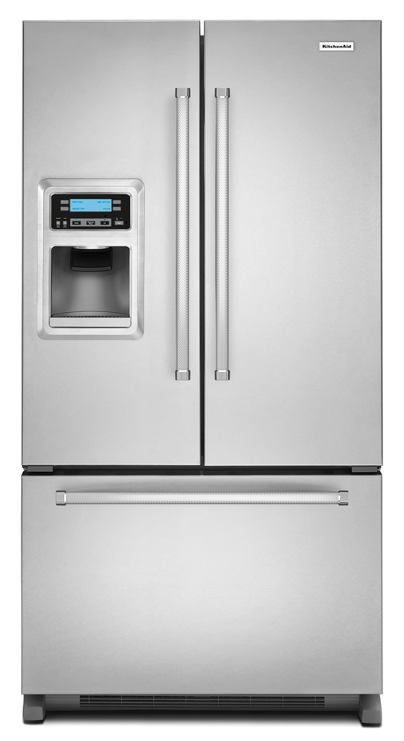 KitchenAid Stainless Steel French Door Refrigerator (20 Cu. Ft.) - KRFC400ESS
