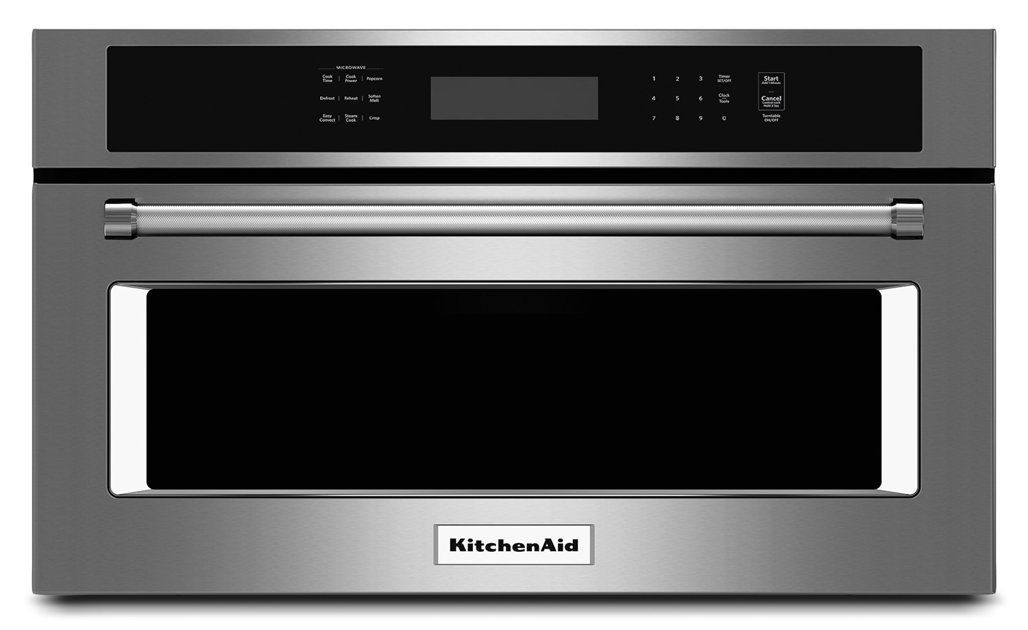 "Cooking Products - KitchenAid 1.4 Cu. Ft. 30"" Built-In Convection Microwave Oven - Stainless Steel"