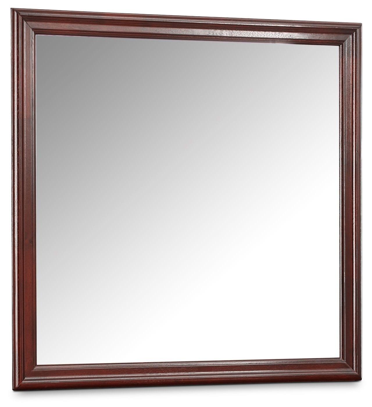 Belleview Mirror - Cherry
