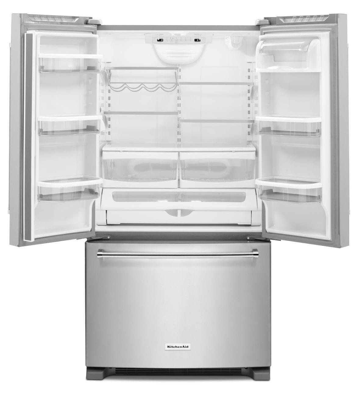 Kitchenaid French Door Refrigerator: KitchenAid Stainless Steel French Door Refrigerator (20 Cu