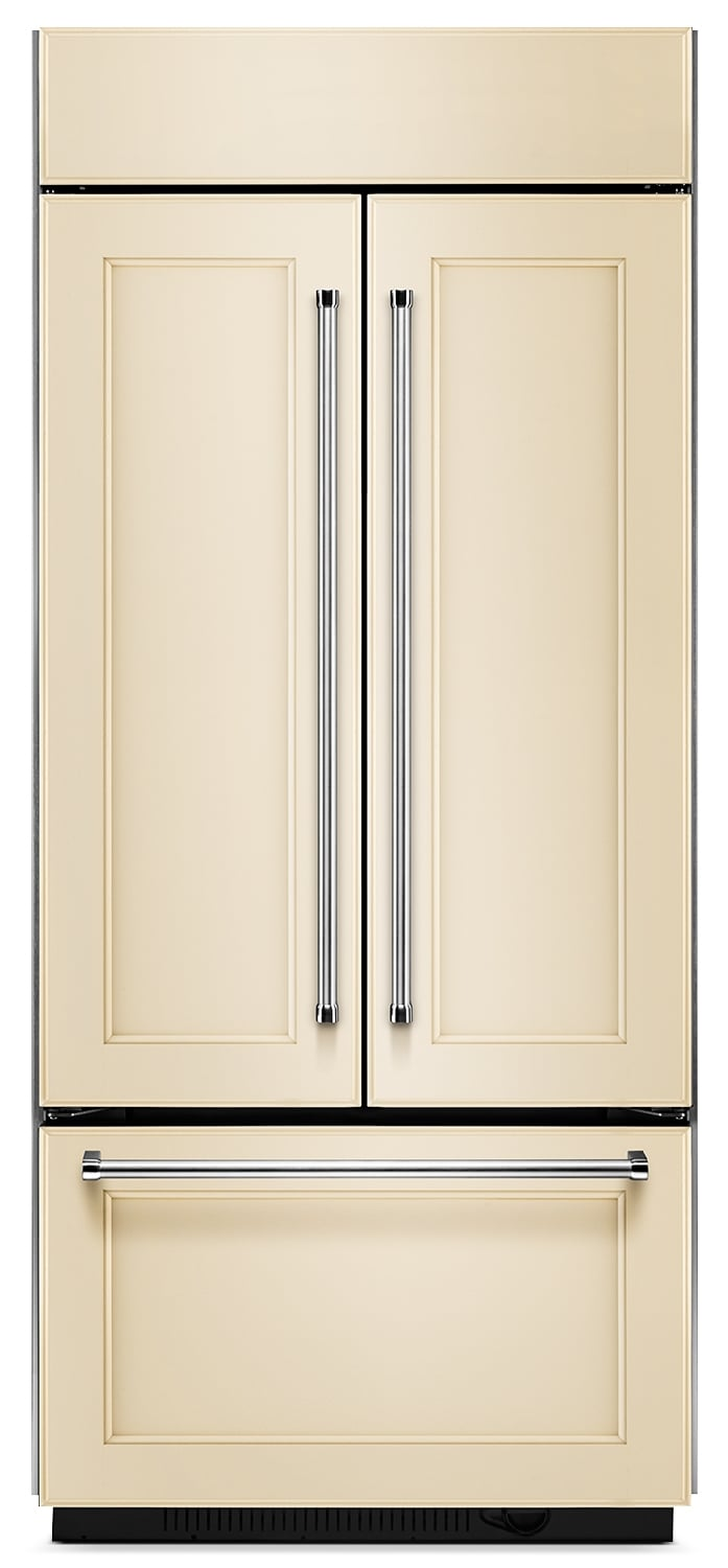 Refrigerators and Freezers - KitchenAid 20.8 Cu. Ft. French Door Refrigerator – Panel Ready