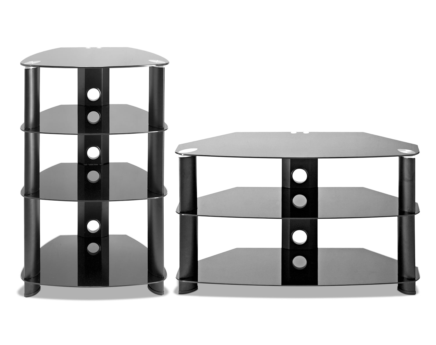 The Tripoli Collection - Black, Stainless Steel