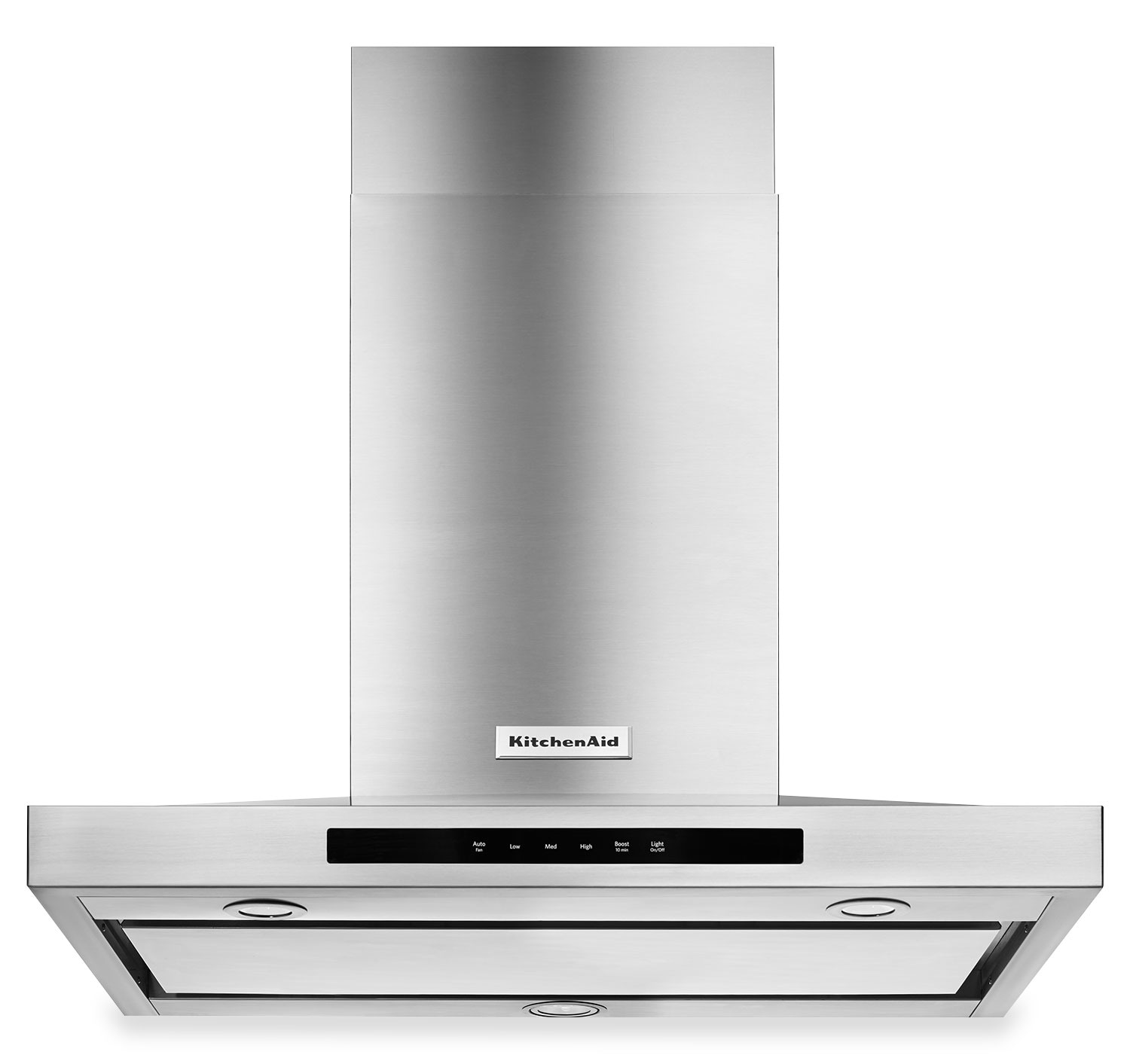 "Cooking Products - KitchenAid Stainless Steel 36"" Wall-Mount Canopy Range Hood KVWB606DSS"