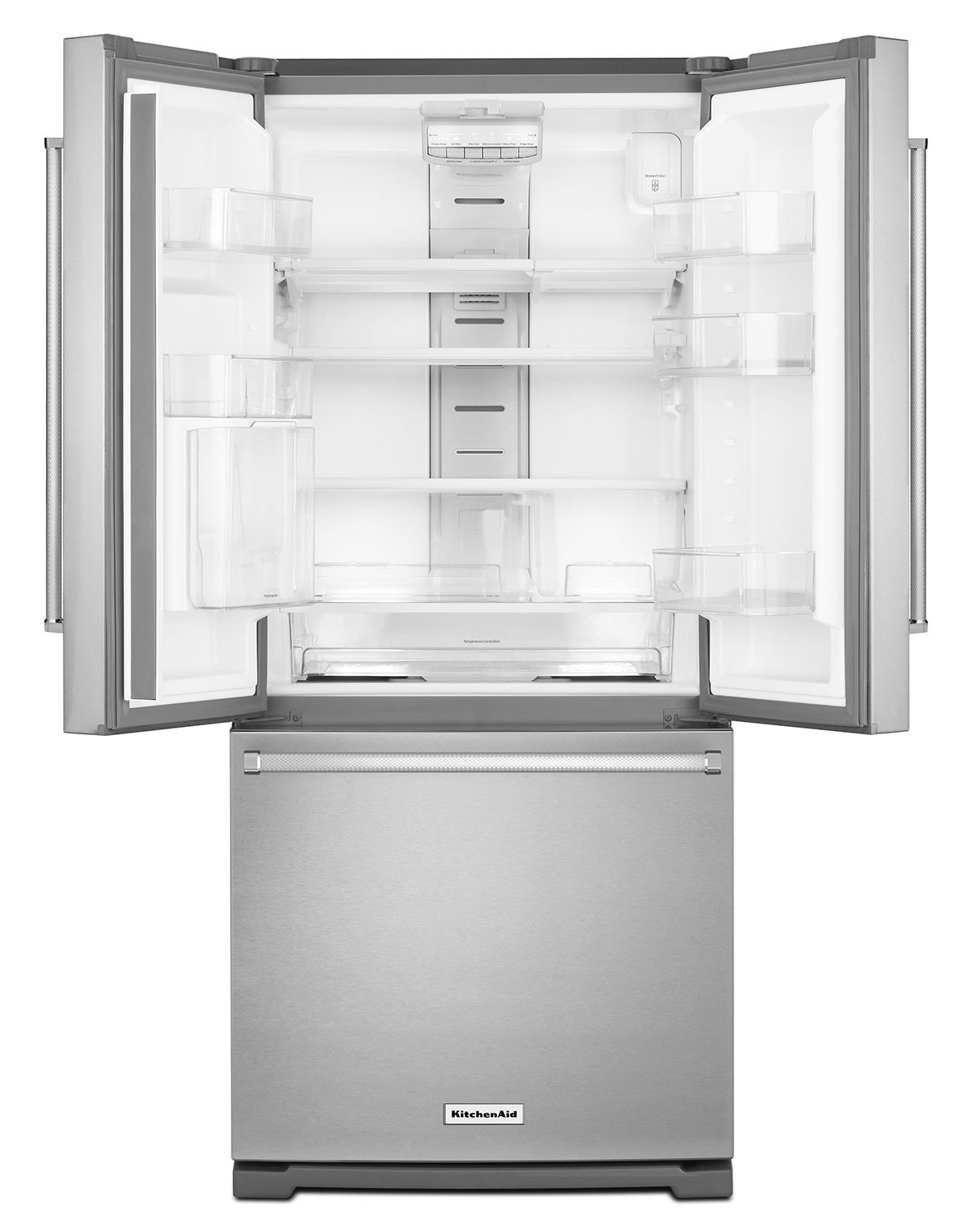 KitchenAid Stainless Steel French Door Refrigerator (20 Cu. Ft ...