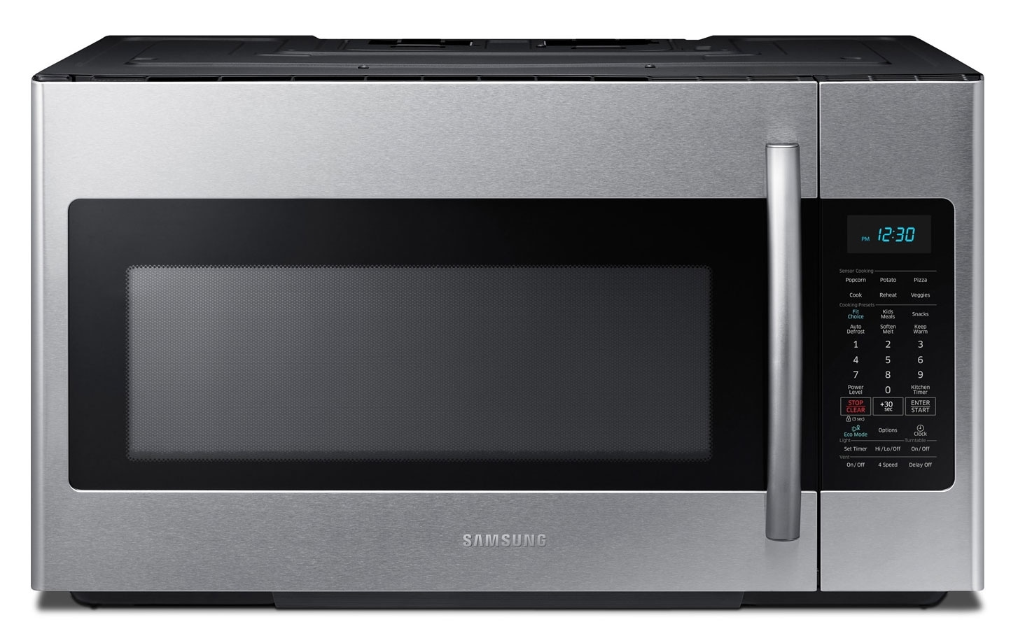 Cooking Products - Samsung Over-the-Range Microwave ME18H704SFS/AC