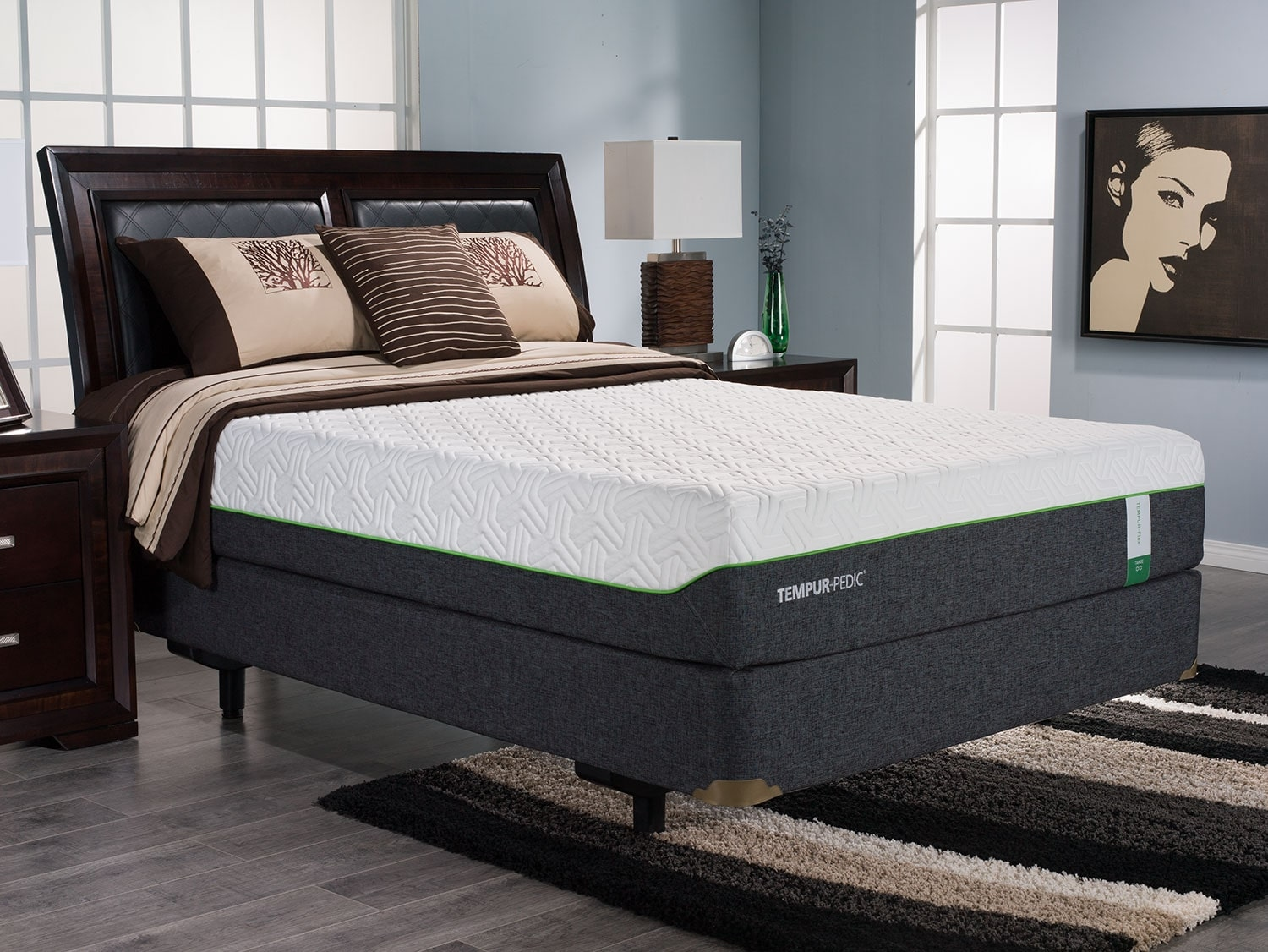 Mattresses and Bedding - TEMPUR-Flex™ Tahoe Queen Mattress Set