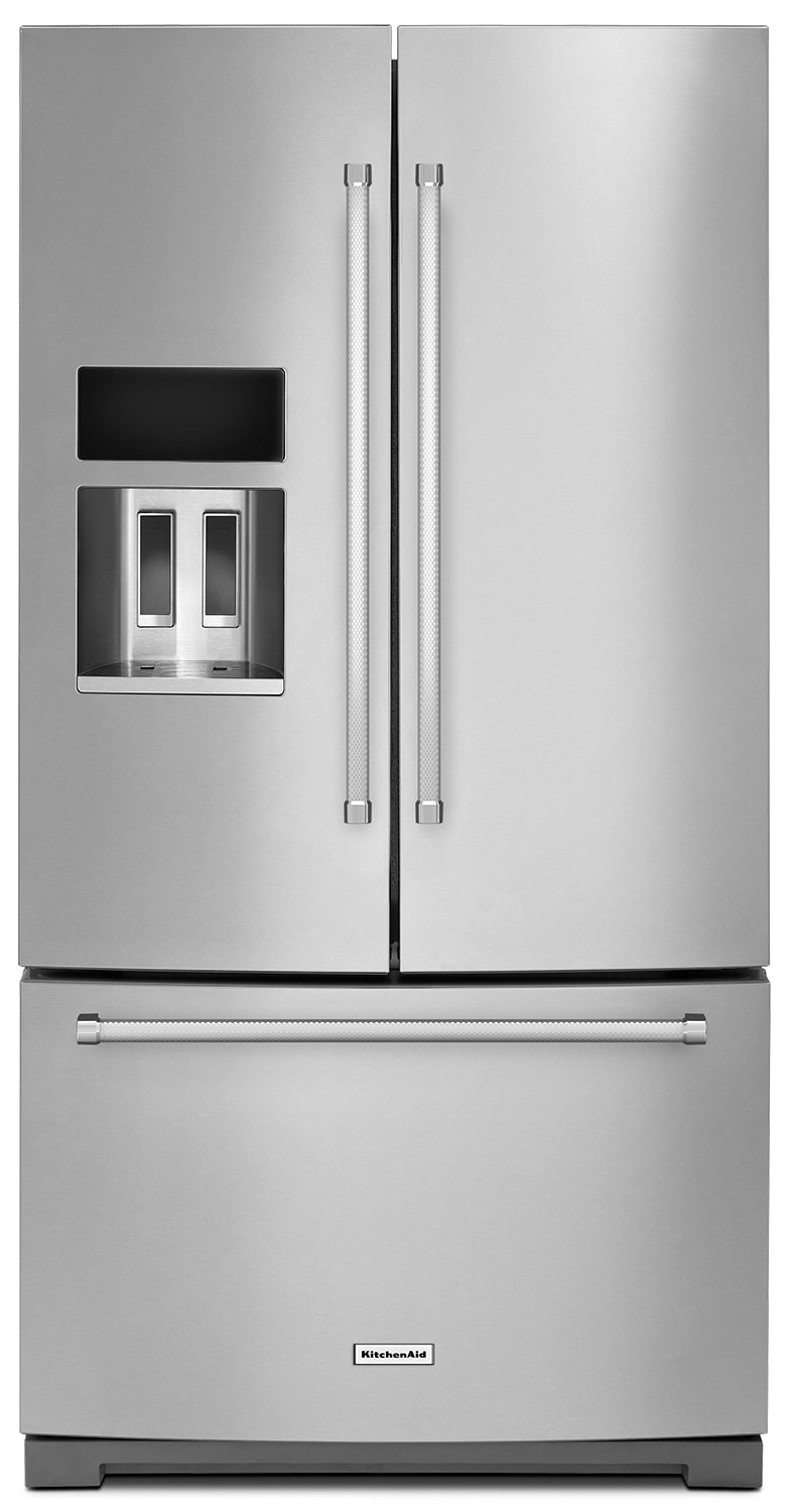 KitchenAid 26 Cu. Ft. French Door Refrigerator with Platinum Interior - Stainless Steel