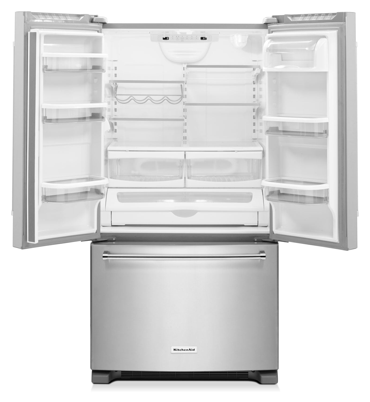 Kitchenaid Refrigerator Drawers: KitchenAid Stainless Steel French Door Refrigerator (25 Cu
