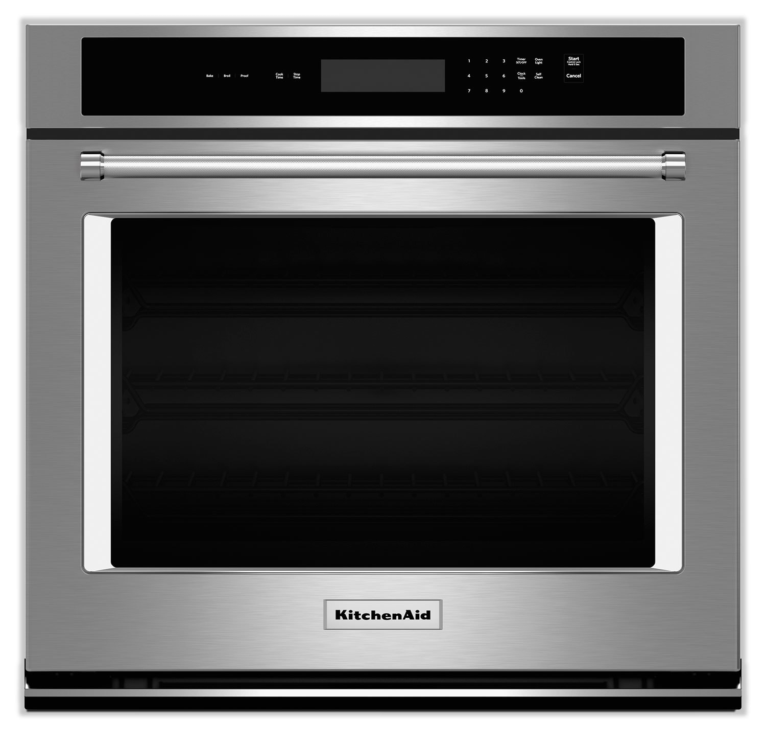 Cooking Products - KitchenAid Stainless Steel Wall Oven (4.3 Cu. Ft.) - KOST107ESS