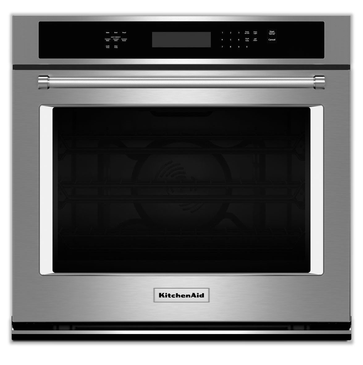 Cooking Products - KitchenAid Stainless Steel Convection Wall Oven (5 Cu. Ft.) - KOSE500ESS