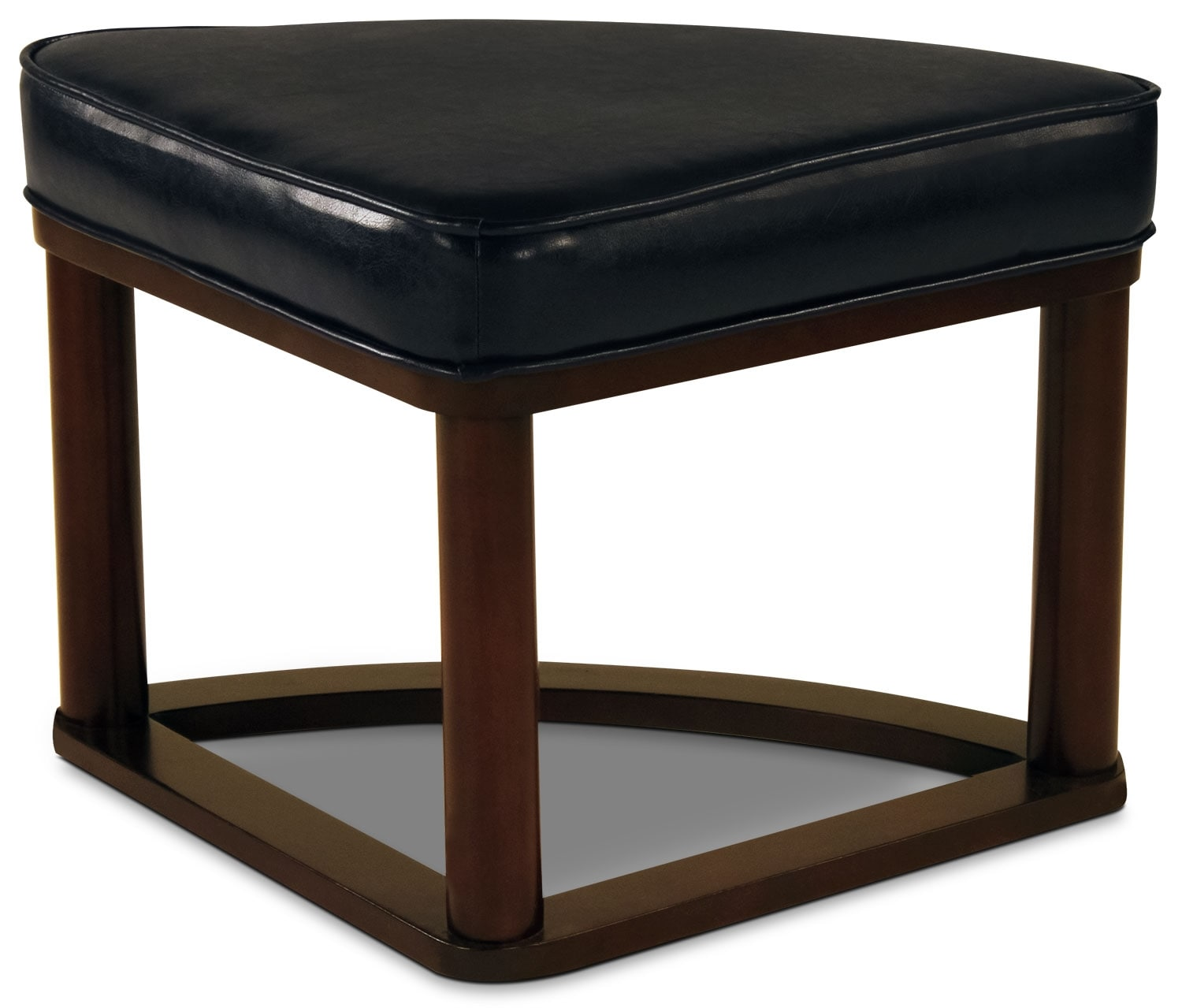 Sierra coffee table with four ottoman wedge stools the brick for Living room stools