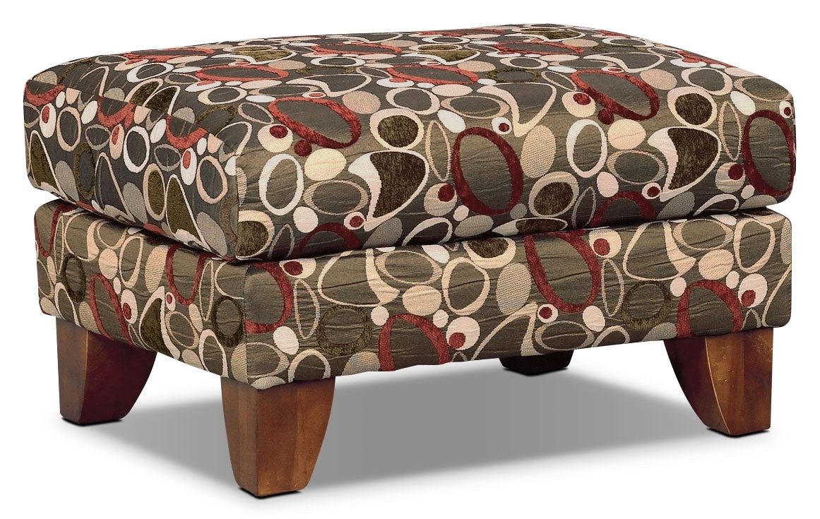 Living Room Furniture - Reese Accent Ottoman