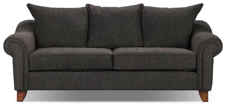 Reese Chenille Sofa - Dark Grey