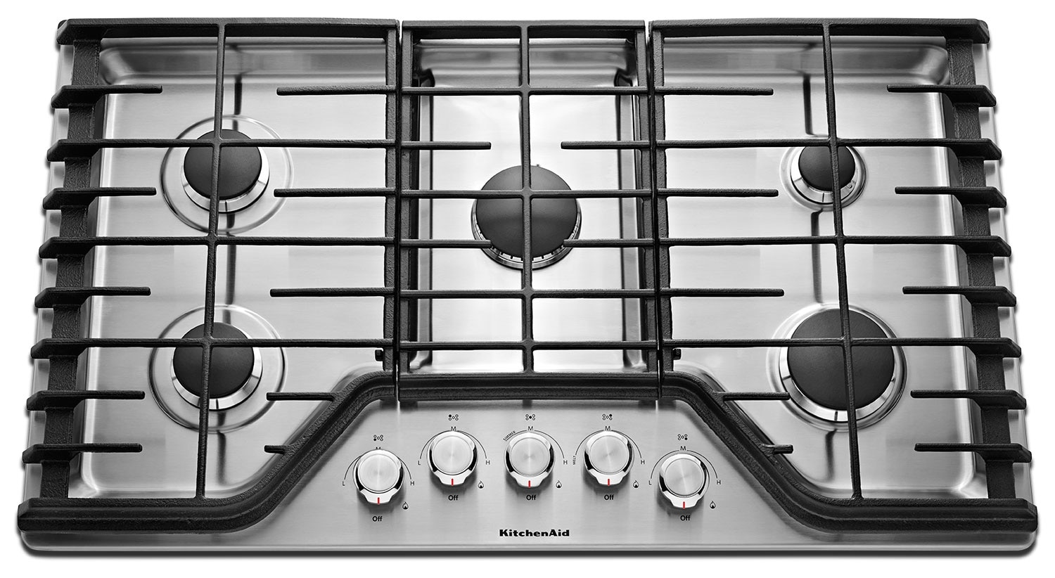 Cooking Products - KitchenAid Gas Cooktop KCGS350ESS
