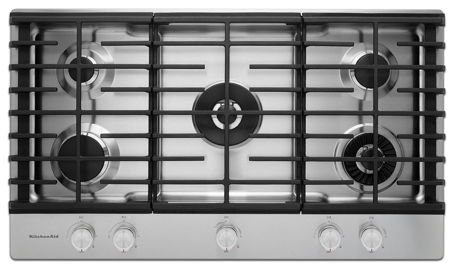 Cooking Products - KitchenAid Gas Cooktop KCGS556ESS