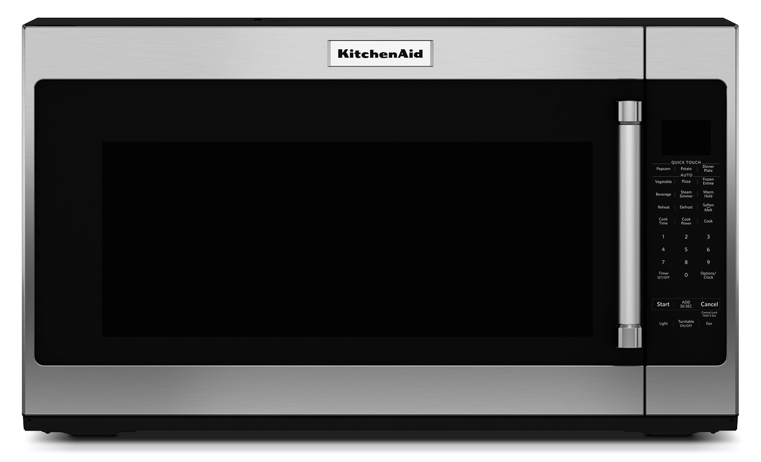 Cooking Products - KitchenAid Stainless Steel Over-the-Range Microwave (2 Cu. Ft.) - YKMHS120ES