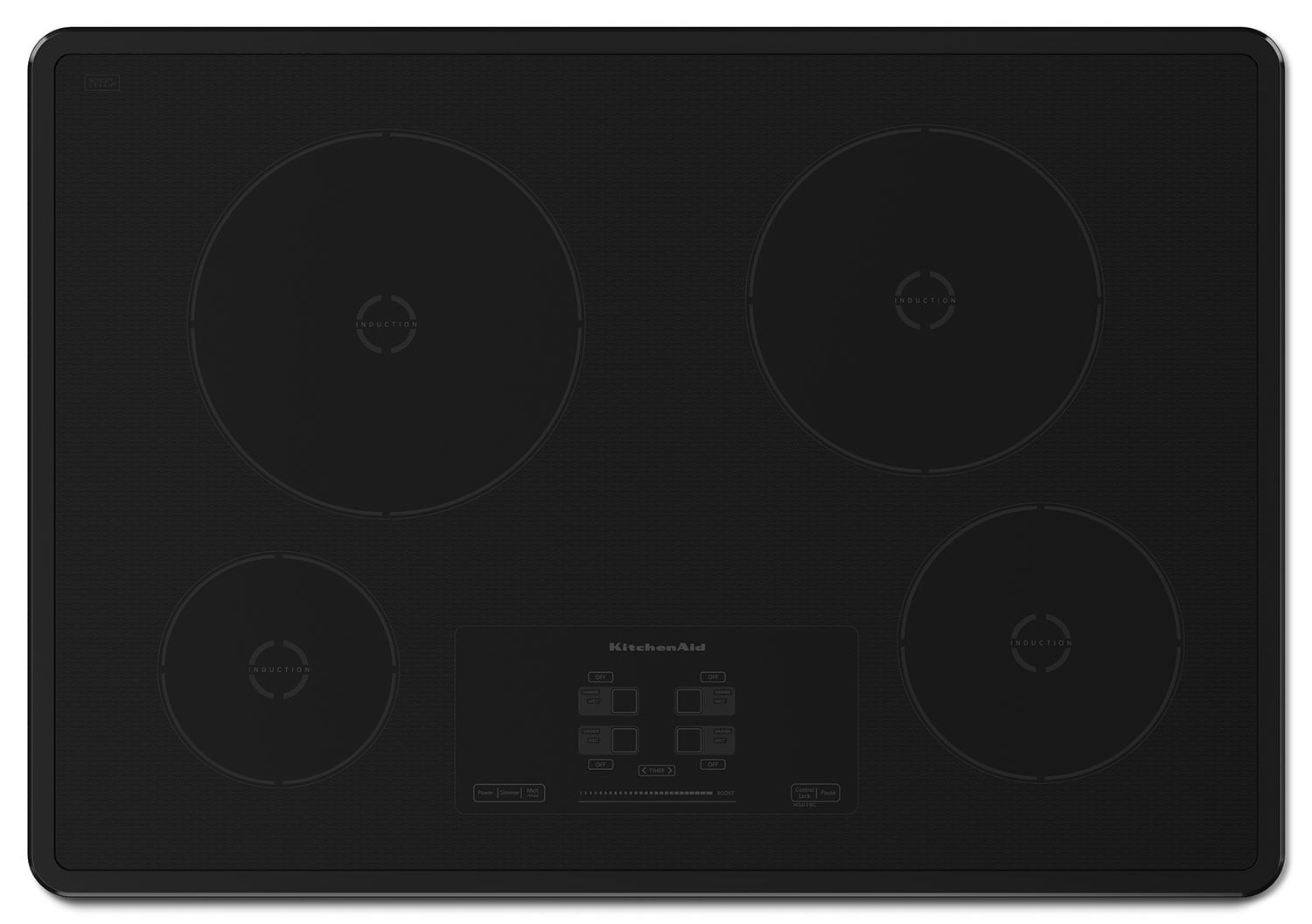 Cooking Products - KitchenAid Induction Cooktop KICU500XBL