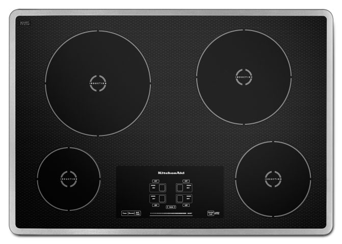 Cooking Products - KitchenAid Induction Cooktop KICU500XSS