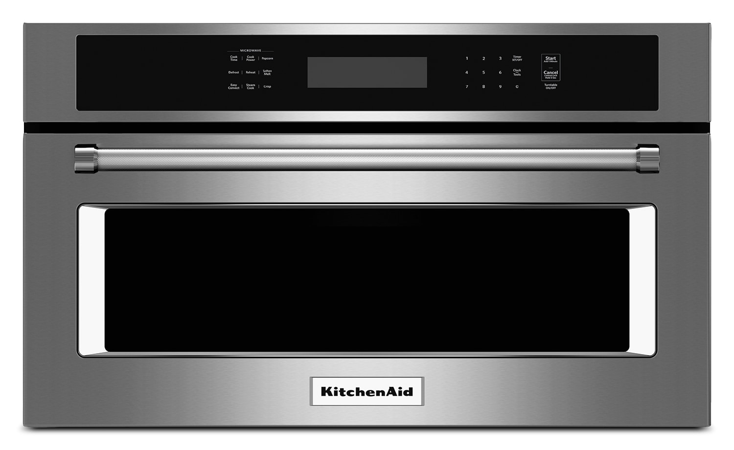 Cooking Products - KitchenAid Stainless Steel Built-In Microwave (1.4 Cu. Ft.) - KMBP107ESS