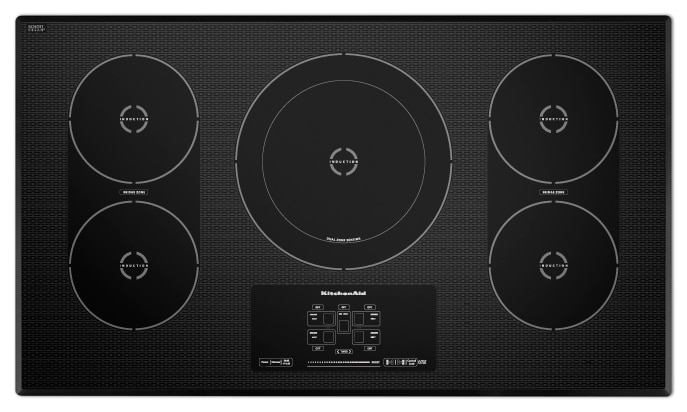 Cooking Products - KitchenAid Induction Cooktop KICU569XBL