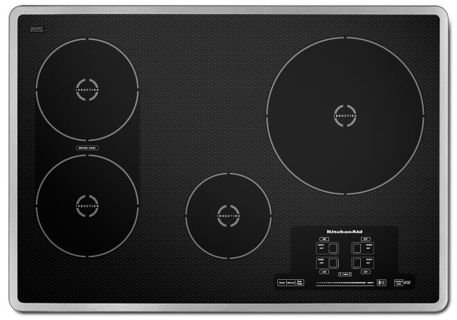 Cooking Products - KitchenAid Induction Cooktop KICU509XSS