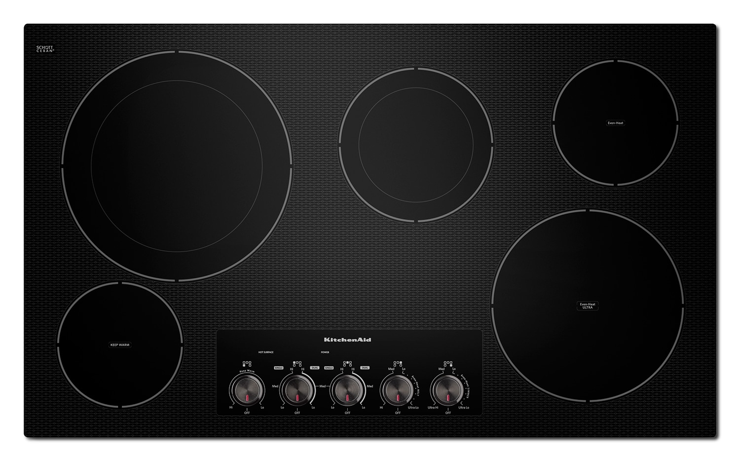 Cooking Products - KitchenAid Electric Cooktop KECC664BBL
