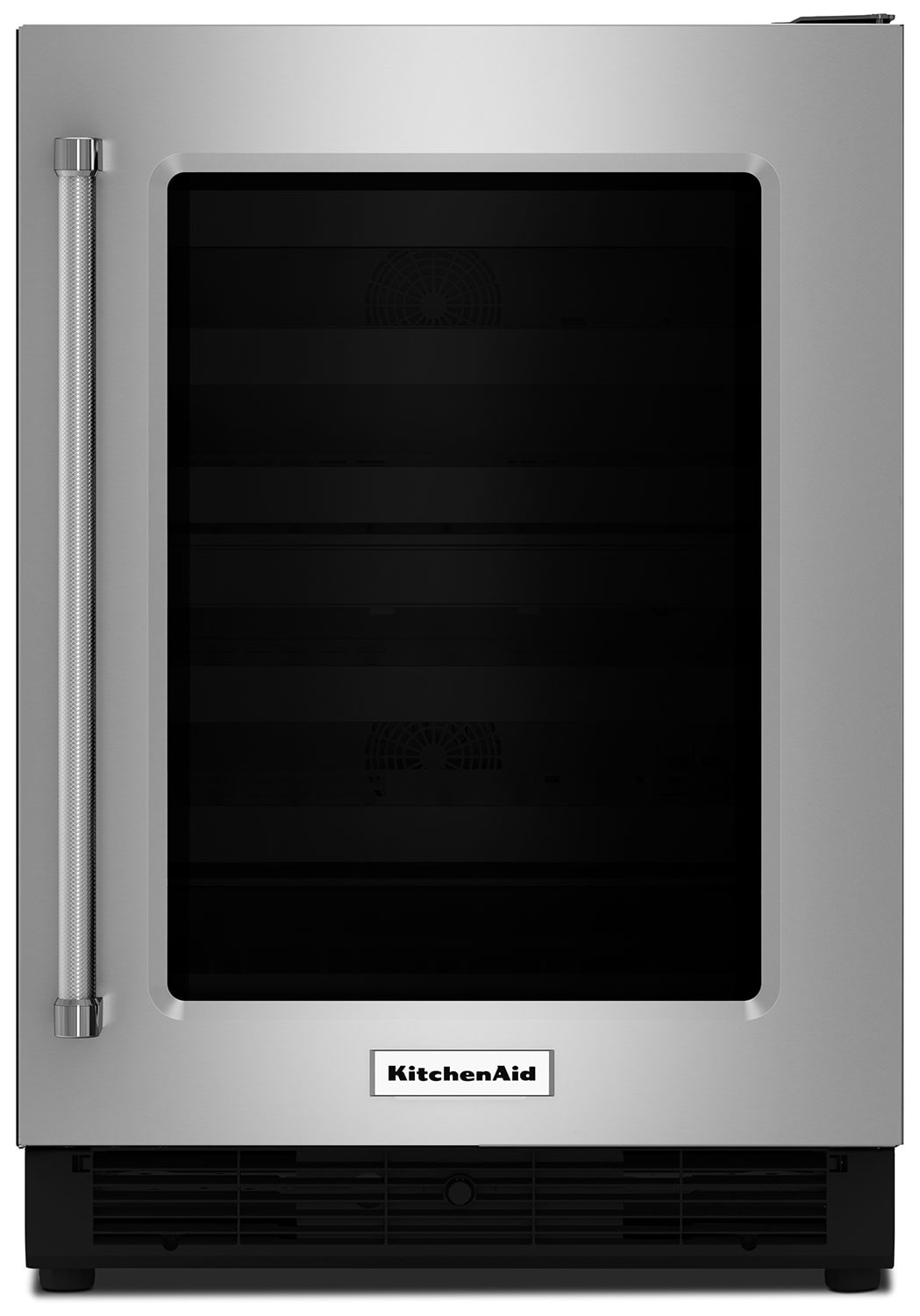 Refrigerators and Freezers - KitchenAid Stainless Steel Undercounter Refrigerator w/ Right Door Swing (5.1 Cu Ft.) - KURR204ESB