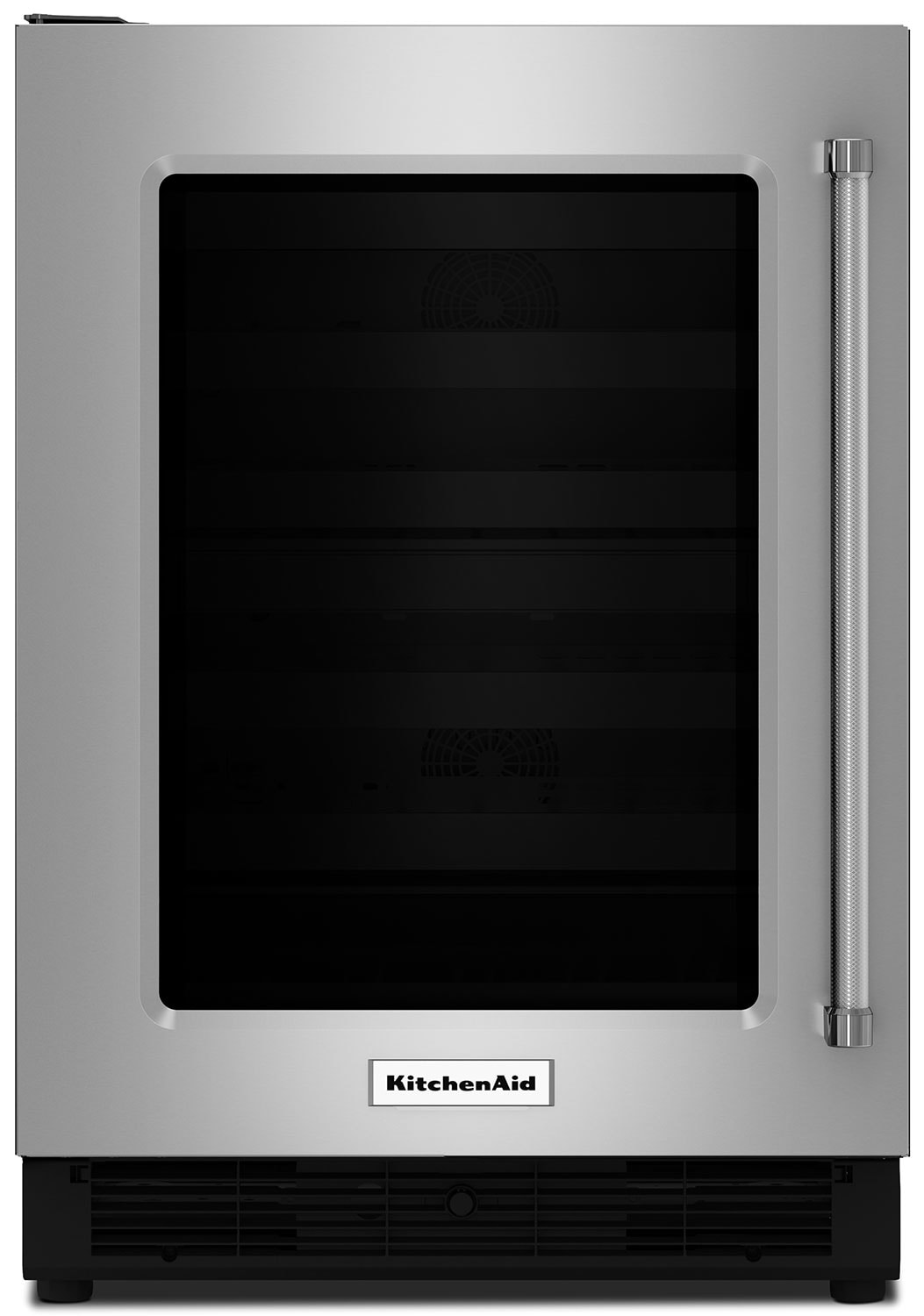 Refrigerators and Freezers - KitchenAid Stainless Steel Undercounter Refrigerator w/ Left Door Swing (4.7 Cu. Ft.) - KURL204ESB