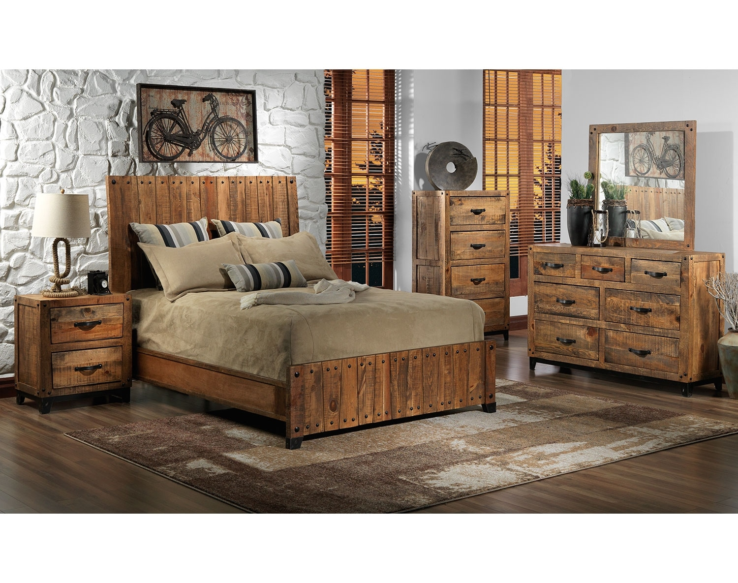 The Maya Collection - Rustic Pine