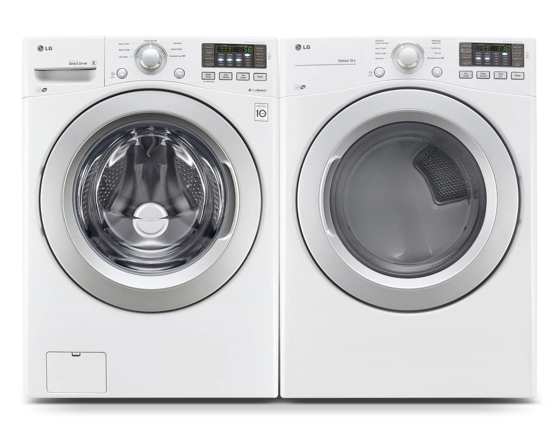 LG Laundry - WM3170CW/DLE3170W