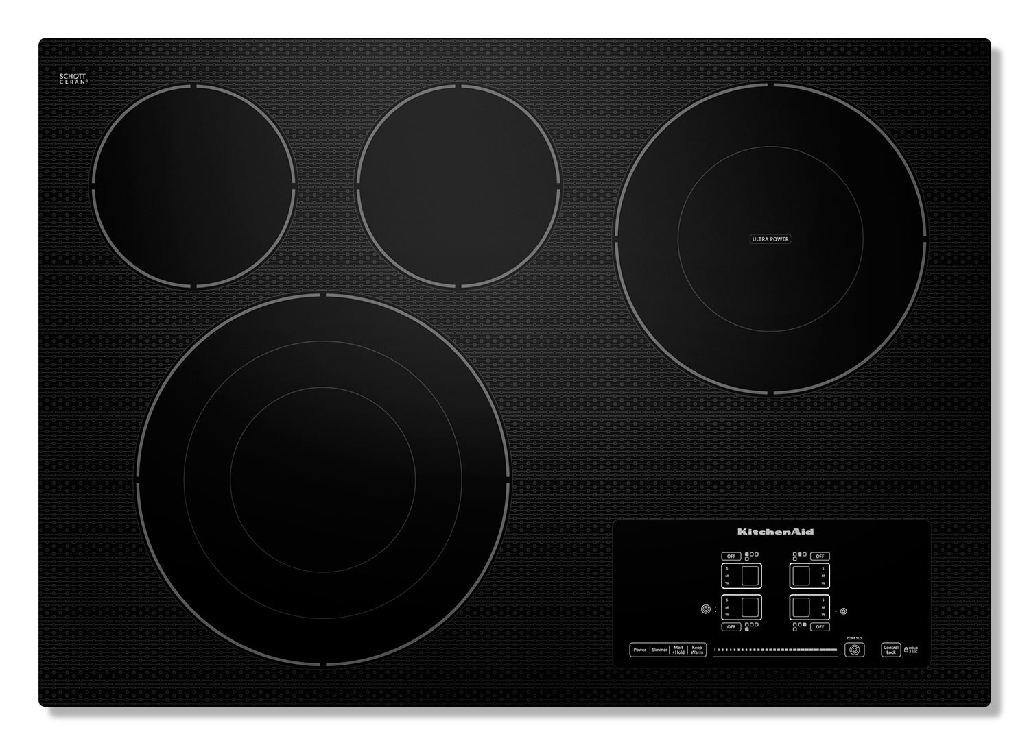 Cooking Products - KitchenAid Electric Cooktop KECC607BBL