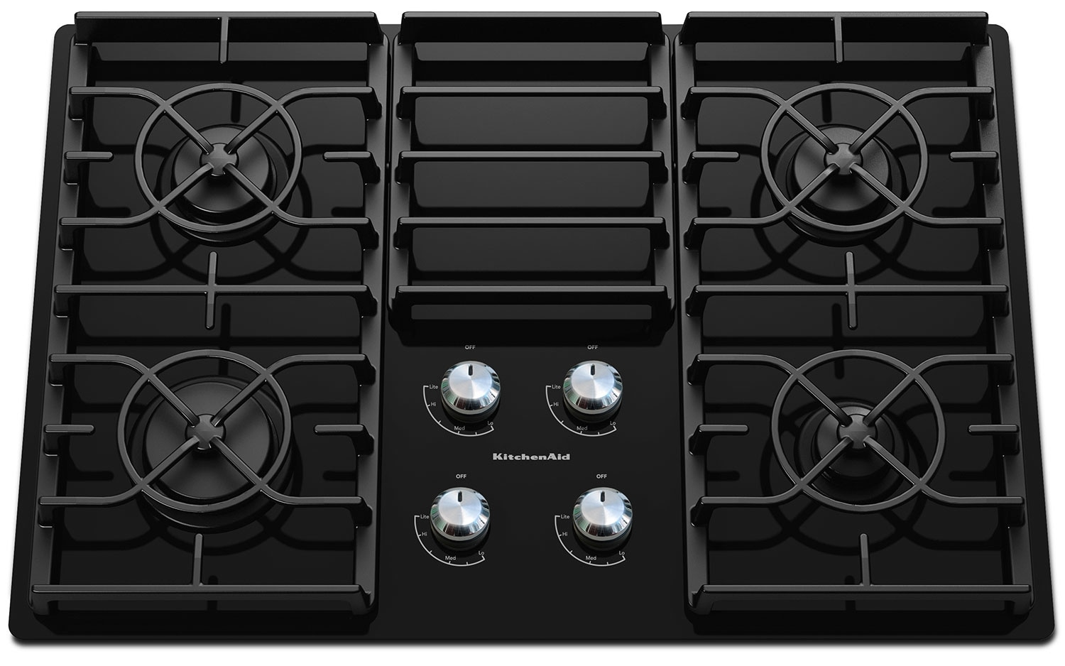 Cooking Products - KitchenAid Gas Cooktop KGCC506RBL