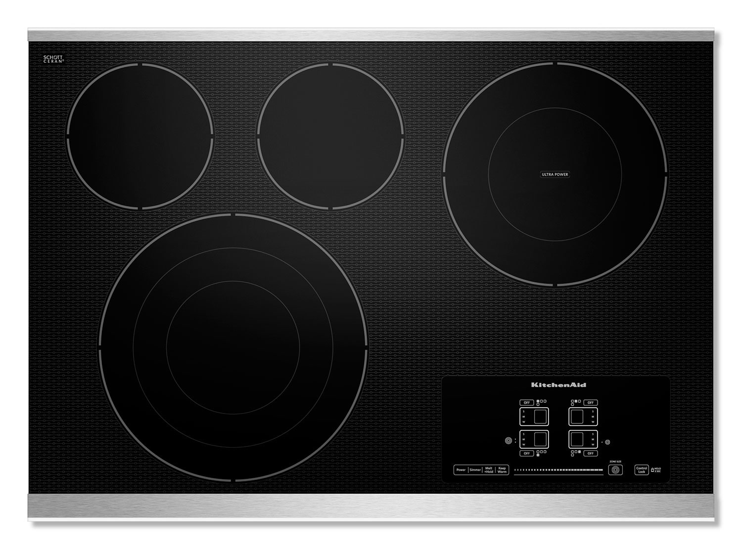 Cooking Products - KitchenAid Electric Cooktop KECC607BSS