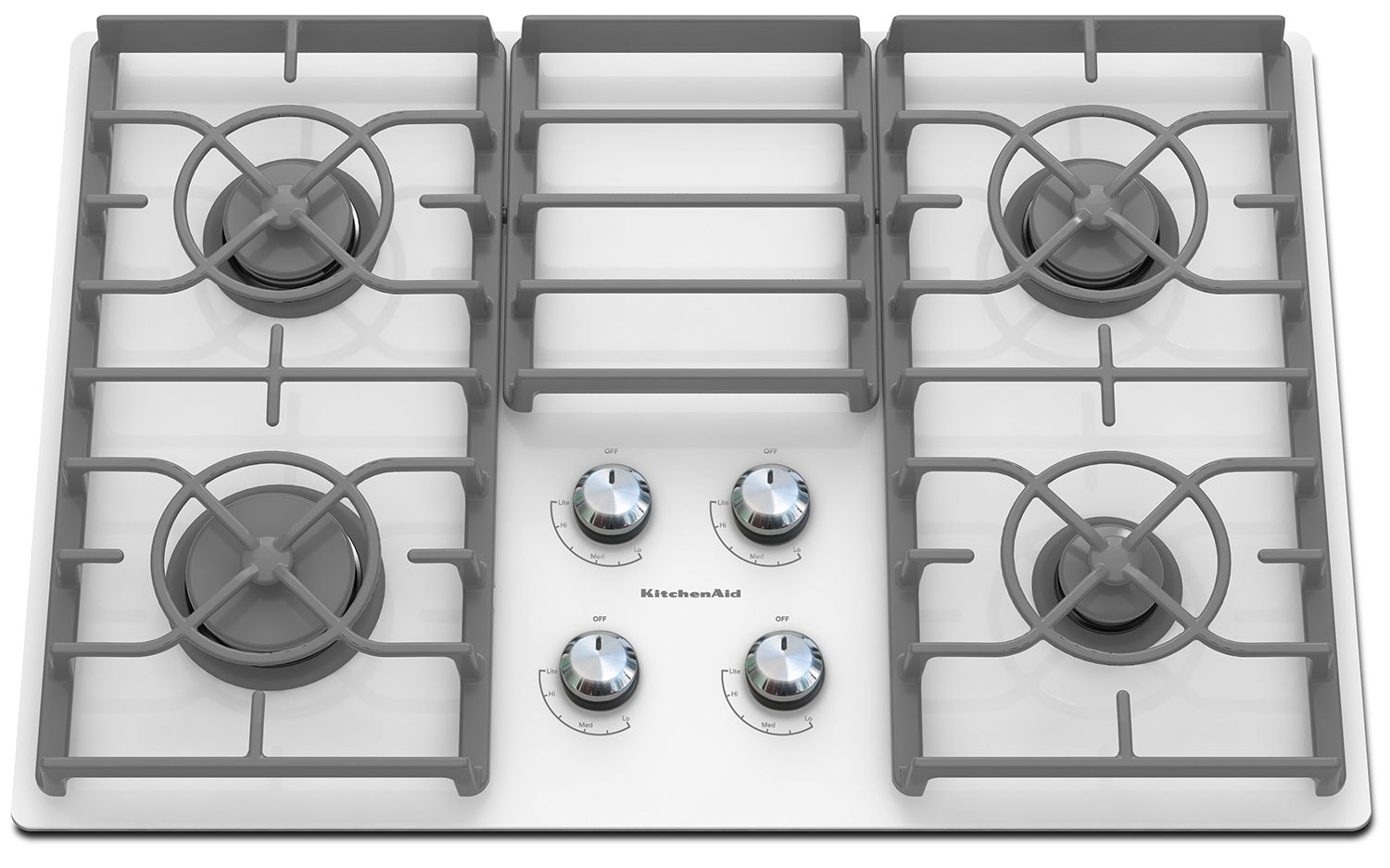 Cooking Products - KitchenAid Gas Cooktop KGCC506RWW